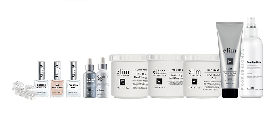 medi hand elim retal pro spa products and mediheel from Elim South Africa