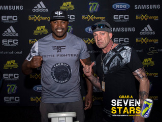 WHAT A NIGHT! Here are some highlights of the EFC this weekend... #BeASTAR #EFC61 #7StarsEnergy