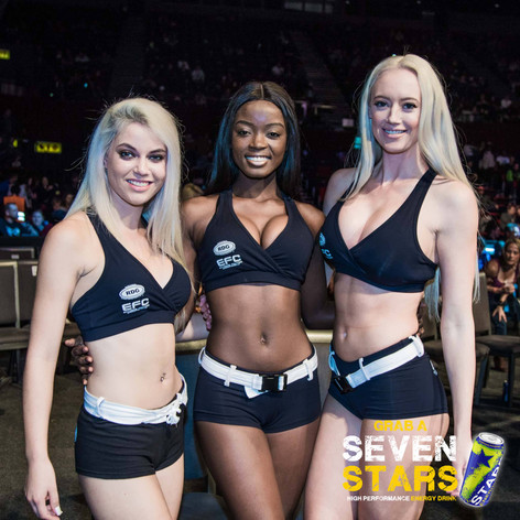 Promotional Girls from Seven Stars Energy Drink
