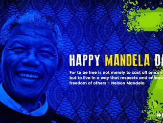 Happy Mandela Day, STARS! How did you spend your 67 minutes in honor of Madiba? #BeaSTAR