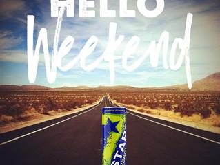 """Hello"" Weekend. I've missed you. #BeASTAR"