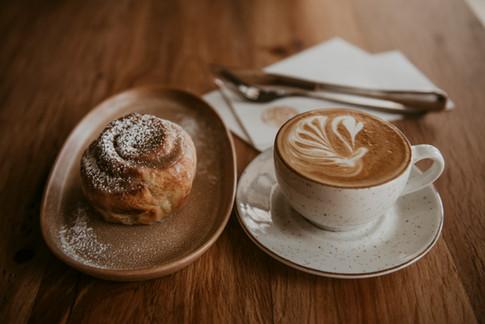 Photo Shoot of Coffee at Milkwood Restaurant.