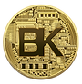 BlockKoin Exchange Cryptocurrency Token in Gold for Coin Offering
