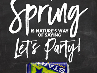 Spring is nature's way of saying...  LETS PARTY! #SpringDay #BeASTAR
