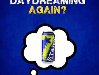 We're officially half way through the week! Day dreaming? Recharge with the only long-lasting en