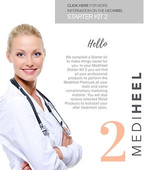 starter kit 2 for Elim South Africa mediheel products