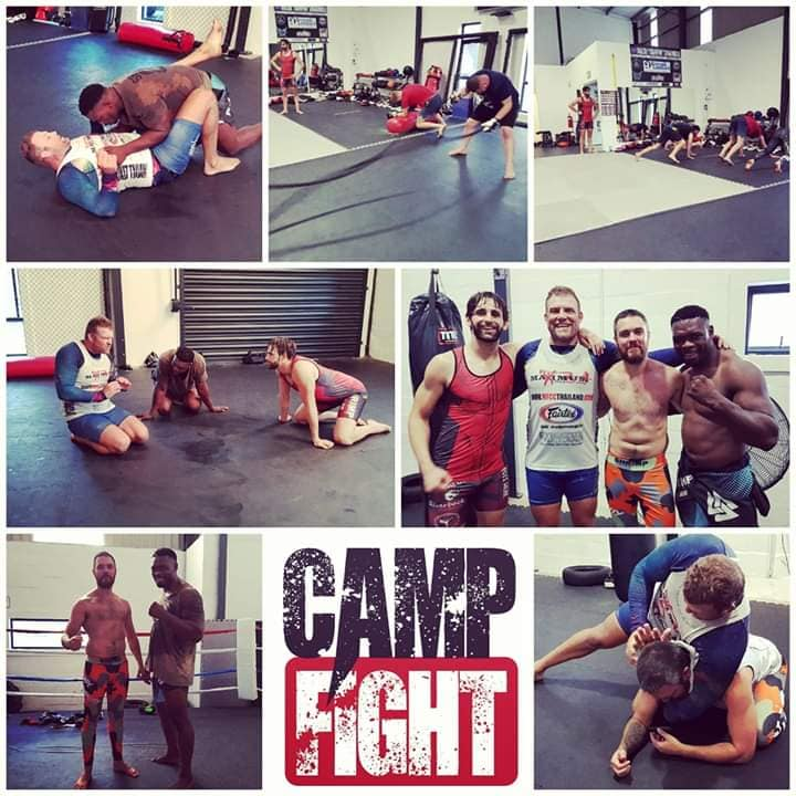 Camp Fight, MMA, South Africa