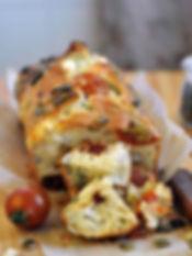 Cake féta et tomates séchées