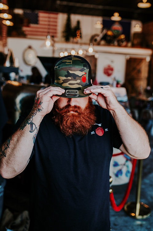 Red Beard Camo Hat
