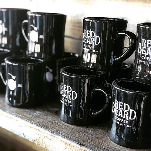 Black Diner Mug