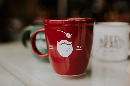 Traditional Red Mug