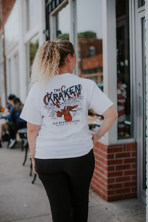 White Kraken T-shirt