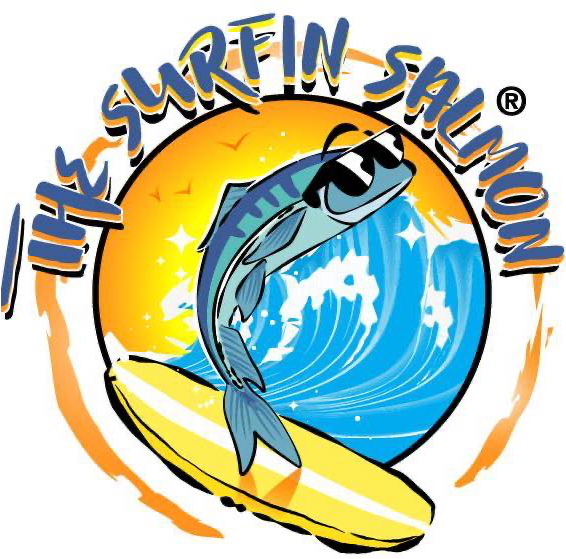 THE SURFIN' SALMON