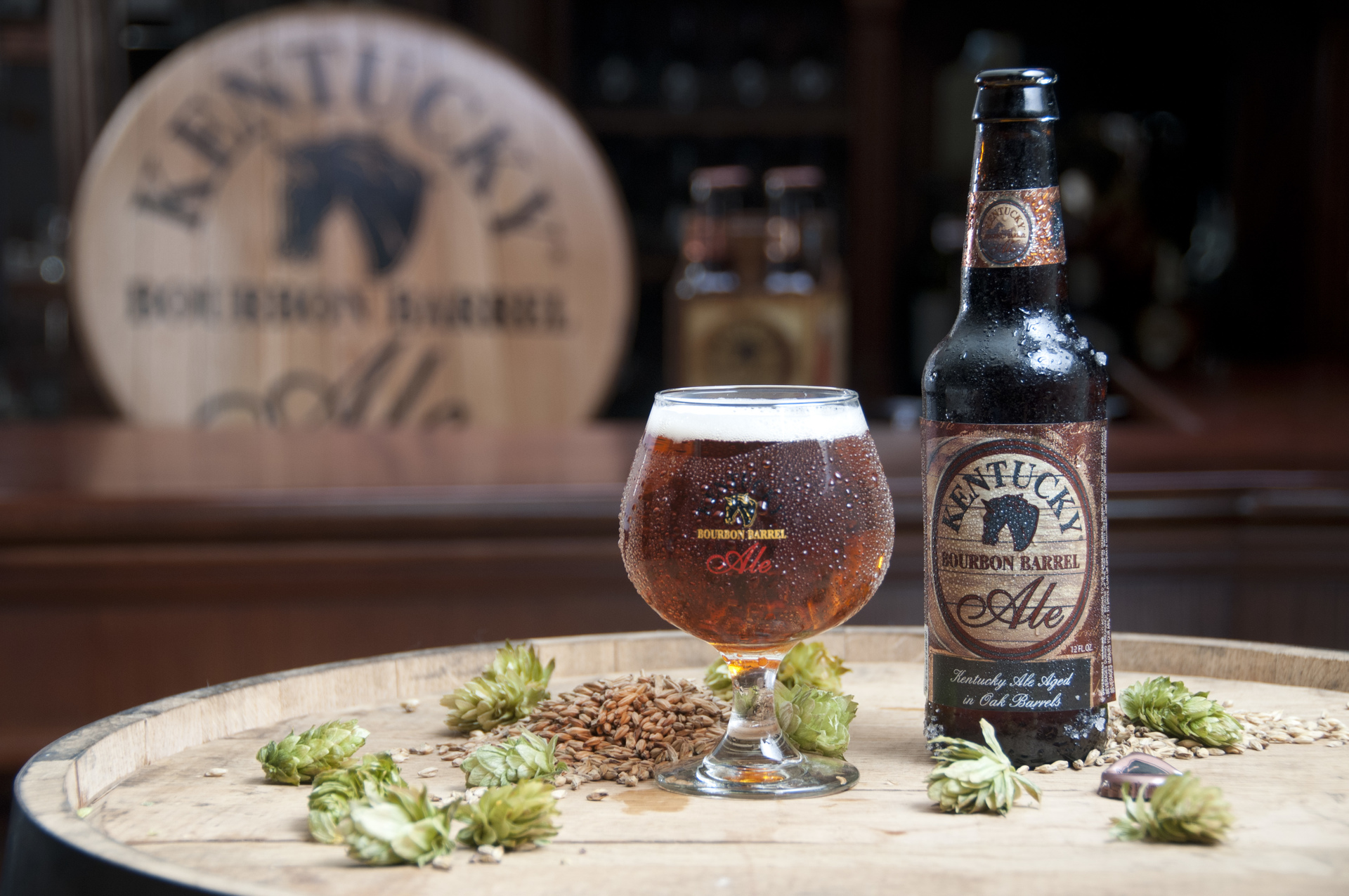 Try Our Bourbon Barrel Ale Infusion