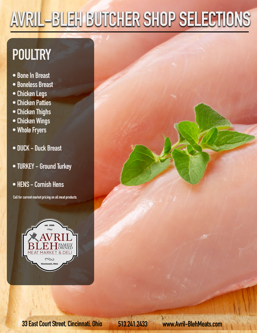 POULTRY SELECTIONS