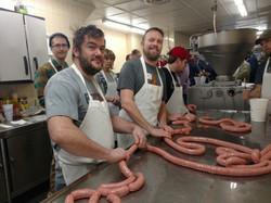 Sausage Making Class!
