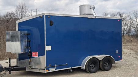 14 Foot Concession Trailer