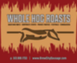 Whole Hog Roasts