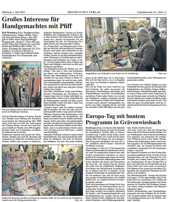 Friedrichsdorfer Wochenblatt