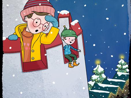 Weihnachtsmarkt, Weihnachtswichtel und der Weiße Turm