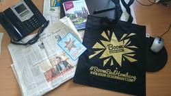Presse und Merchandise