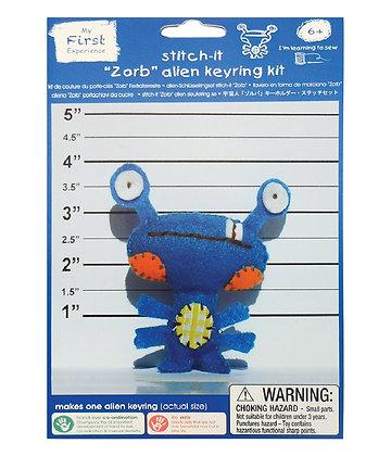 Zorb alien keyring kit 外星人鑰匙扣套裝