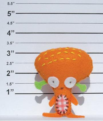 Orbon alien keyring kit 外星人鑰匙扣套裝