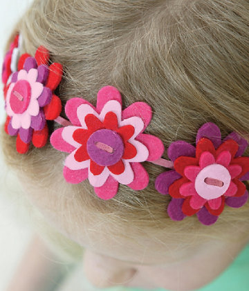 Flowery Jewellery Kit 碎花頭飾製作