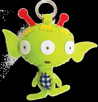 Nanu alien keyring kit 外星人鑰匙扣套裝