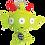 Thumbnail: Nanu alien keyring kit 外星人鑰匙扣套裝