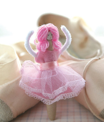 Prima Ballerina Kit 芭蕾娃娃製作