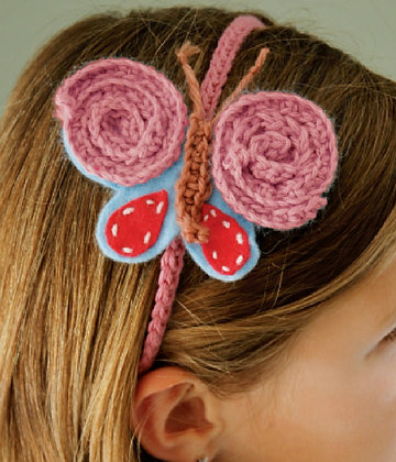 Butterfly Hairband Kit 蝴蝶髮帶製作