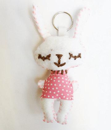 Bunny Keyring Kit 小兔鑰匙扣套裝