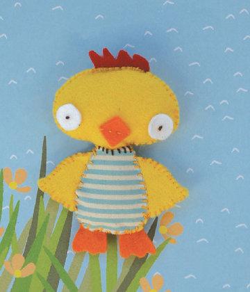 Chick keyring kit 小雞鑰匙扣套裝