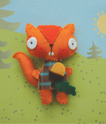 Squirrel keyring kit 松鼠鑰匙扣套裝