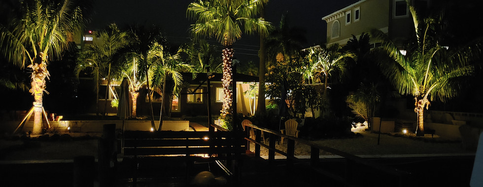 Landscape Lighting - Treasure Island