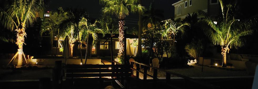 Landscape Lighting - Treasure Island