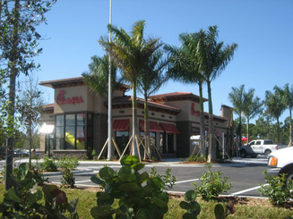 Commercial Landscape installation by JRJ Tampa FLorida