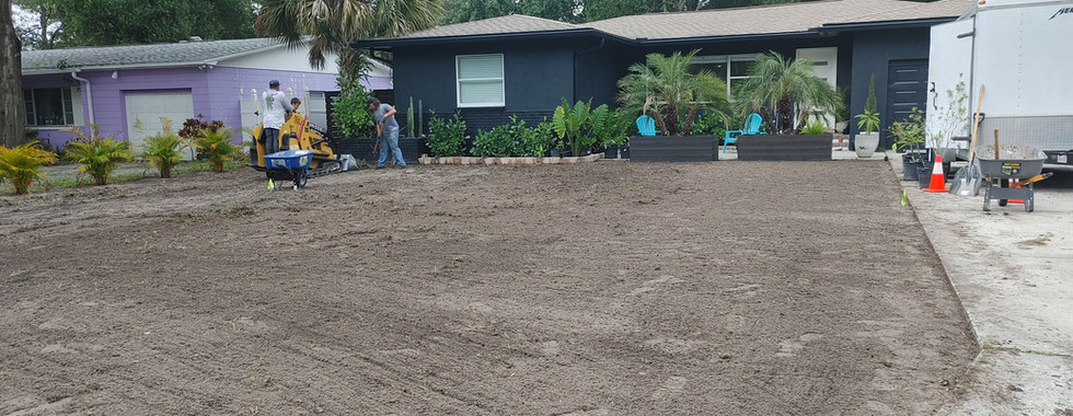 Site Prep - Full Installation Coming, South Saint Pete