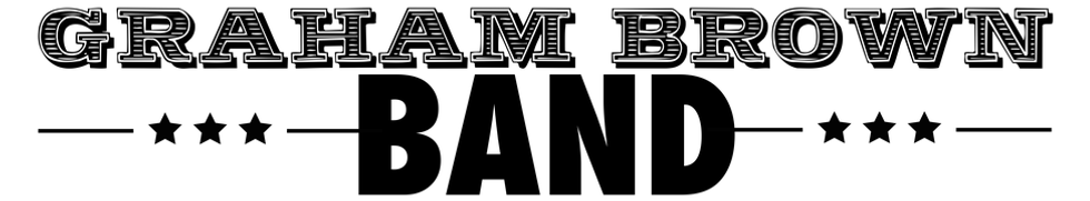 Logo for the greatest Vancouver Graham Brown Band
