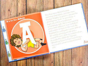 Wrestling the Alphabet to Donate Portion of Book Proceeds to Beat the Streets