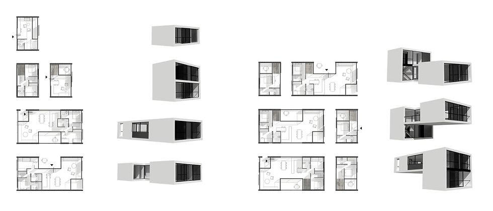 Παντελής Δημόπουλος | Αρχιτεκτονική μελέτη συλλογικής κατοικίας στην Ακαδημία Πλάτωνος, τυπολογίες