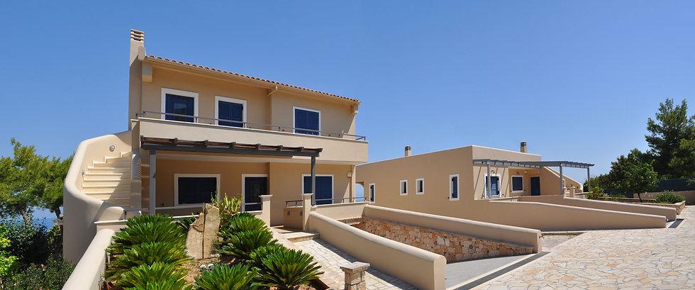 Χρίστος Δημόπουλος Αρχιτεκτονικό Γραφείο & Κατασκευαστική Εταιρεία | Δύο εξοχικές κατοικίες στην Αίγινα