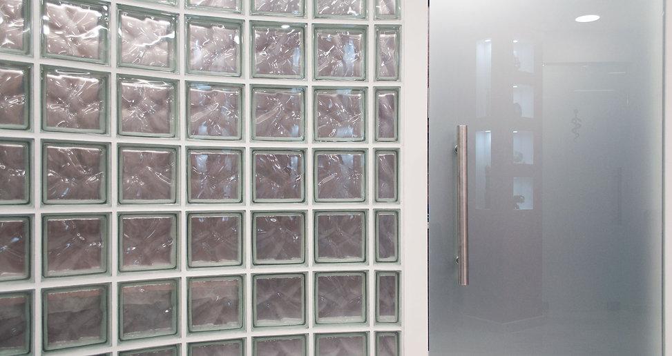 Χρίστος Δημόπουλος Αρχιτεκτονικό Γραφείο & Κατασκευαστική Εταιρεία   Λεπτομέρεια υαλότουβλου
