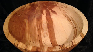 Bowl in Spalted Beech