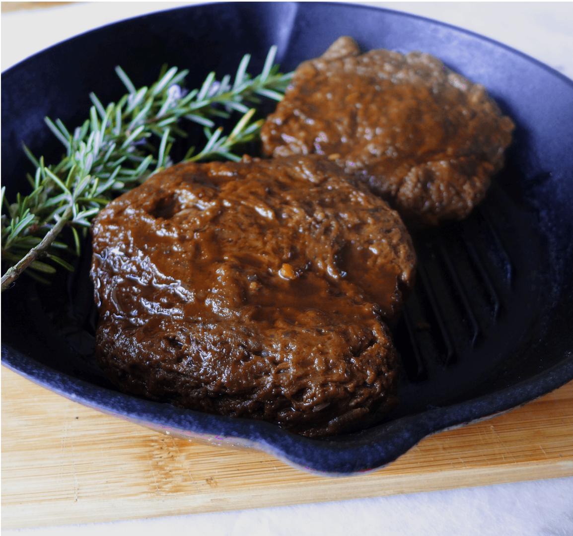 The No Meat Steak Company Ribeye Steak