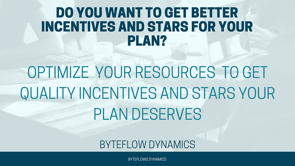Do you want to get better incentives and stars for your managed long term care MLTC and healthcare plan? Optimize your resources to get quality incentives and stars your plan deserves.