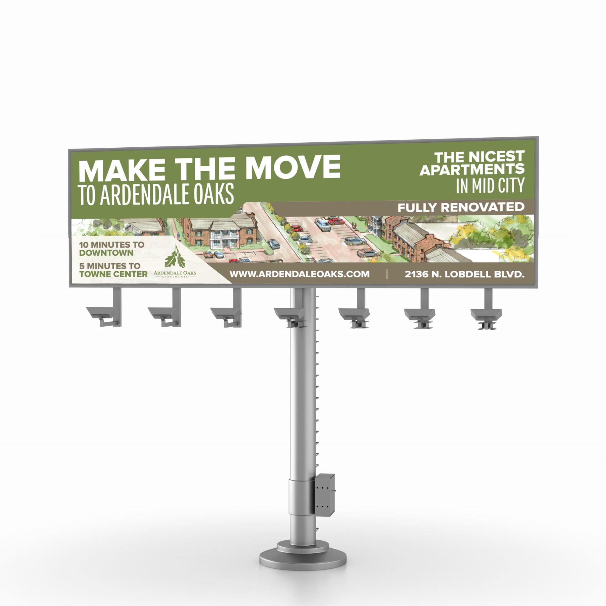 Ardendale billboard mockup