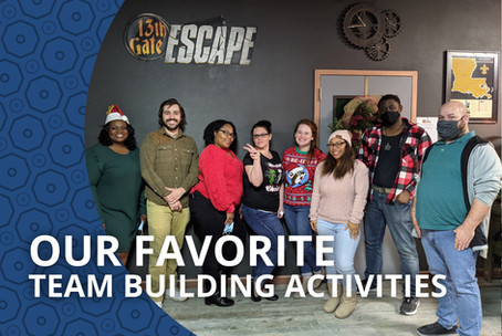 Unwrap the Joy of Christmas with Our Favorite Team Building Activities