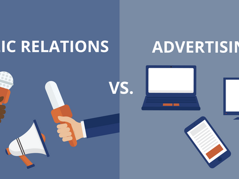 Advertising vs. Public Relations: What's the Difference?